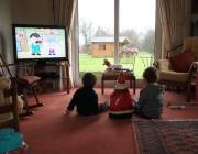 attention, television, language development, DVD, preschooler